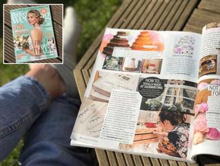 Modern SignwritingDIYFeature in Perfect Wedding Magazine May 2017