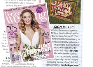Perfect Wedding Magazine February Feature 2018