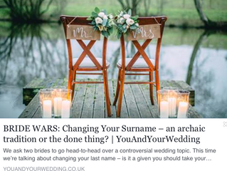 You and Your Wedding Blog Feature