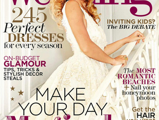 You & Your wedding magazine editorial Feature