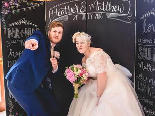 Heather and Matthew Real Wedding