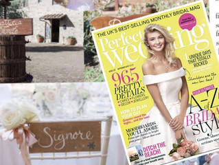 Perfect Wedding Magazine September Feature 2017