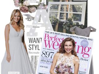 Perfect Wedding Magazine December Feature 2017