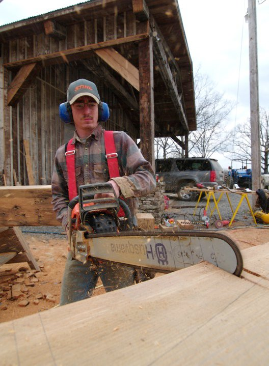 Chainsaw joinery