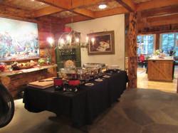 Buffet set up at hostess housemb_IMG_5007_1024
