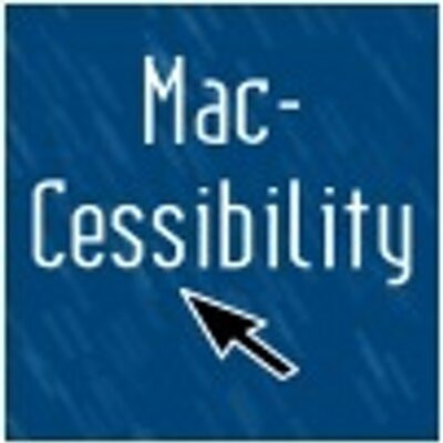 image shows mac-cessibility logo