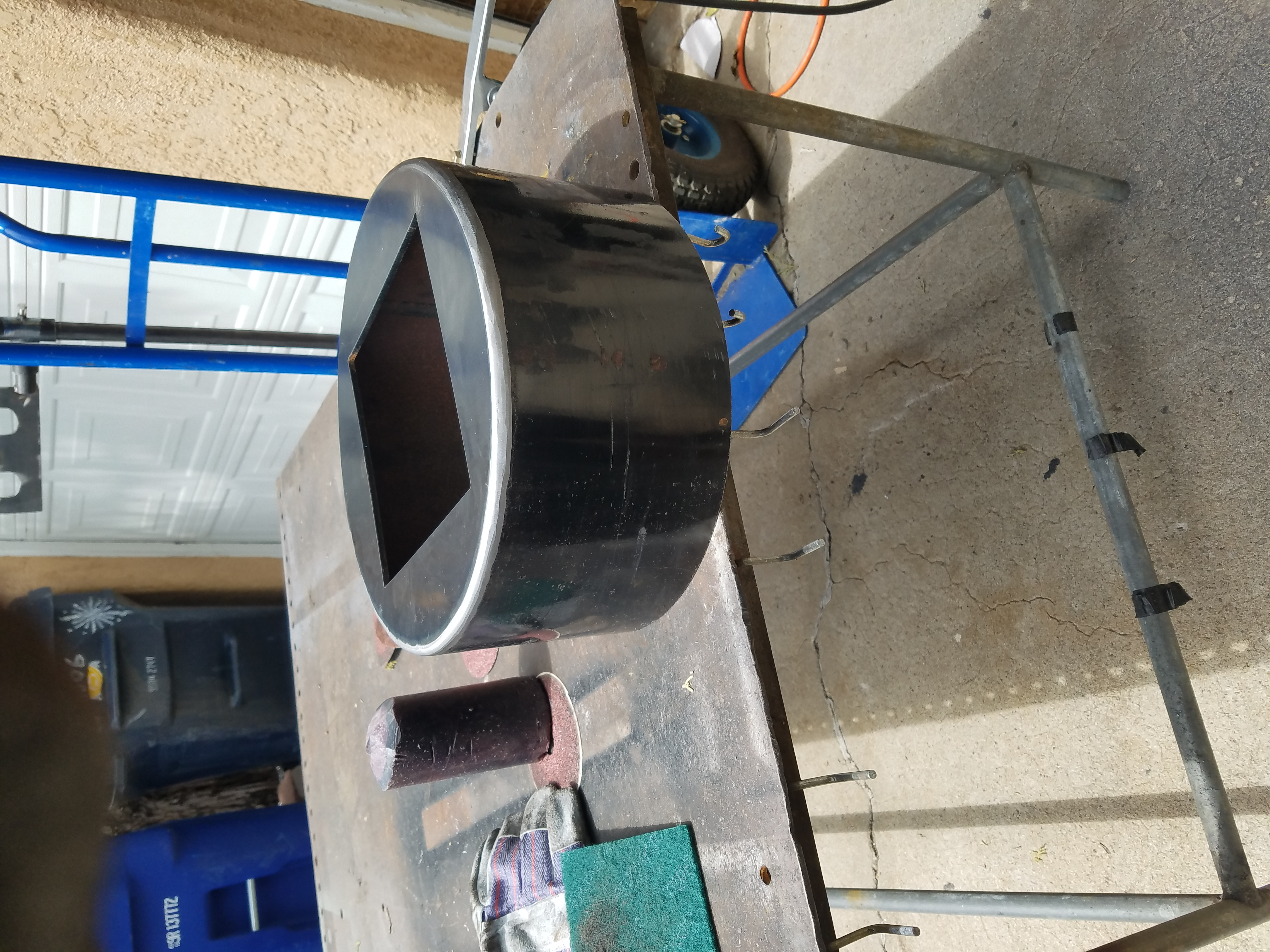 Steel column base