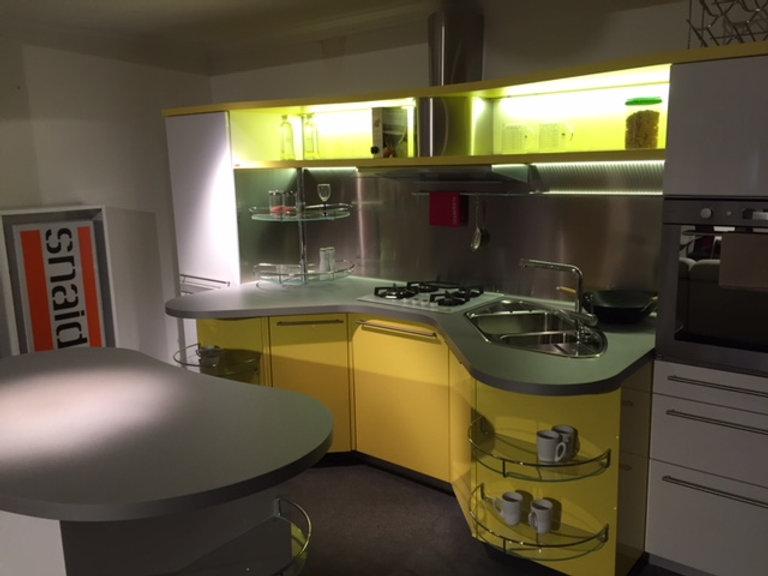 cucina snaidero skyline lunga 3.60 con isola
