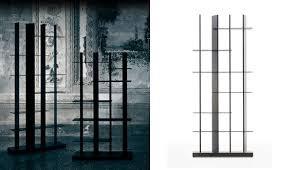 Libreria nera natevo con led posteriori 80 x 31 x 189 di altezza