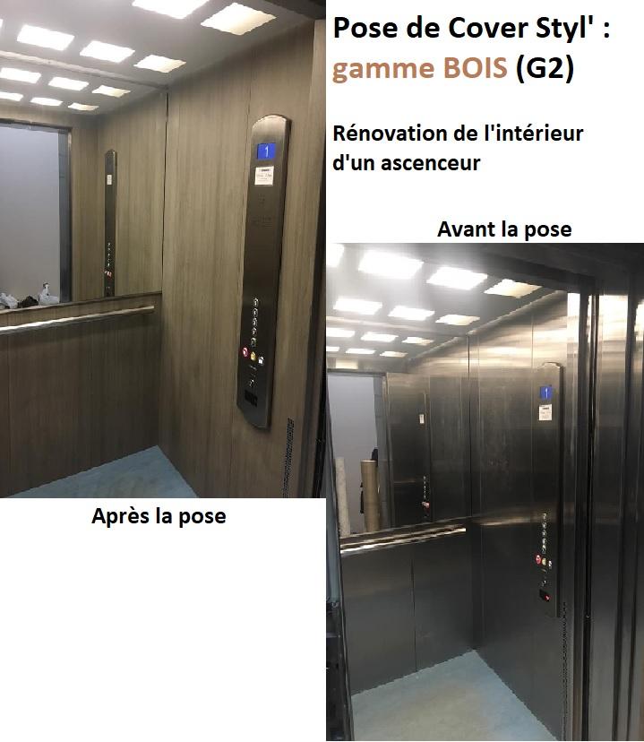 Cover Styl' Ascenseur