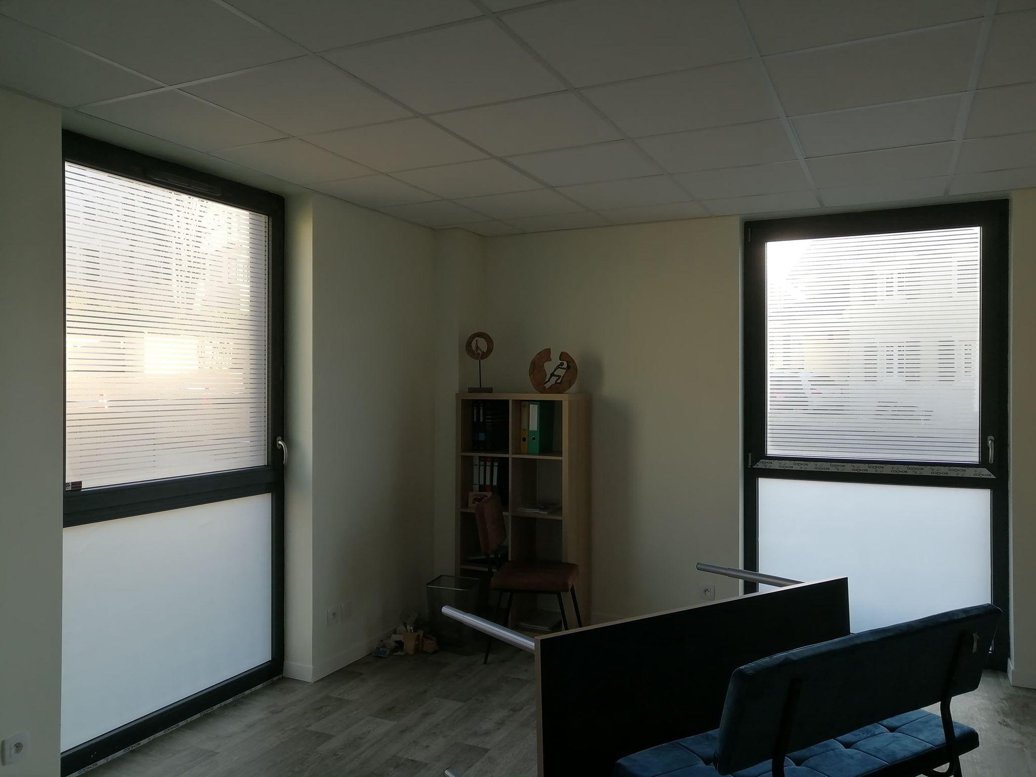 Film décoratif - intimité dans un cabinet de médecin