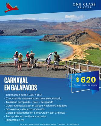 CARNAVAL EN GALAPAGOS