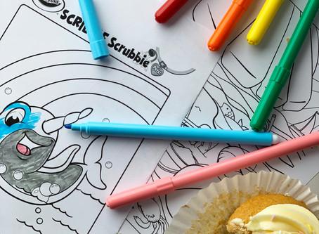 No colouring book? No problem! - Kid's Crafts