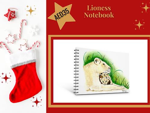 Lioness notebook stocking filler Christmas 2020 presents gifts stationery Gateway Art Sales Abu Dhabi Dubai UAE