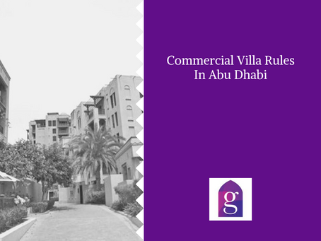 Commercial Villa Rules In Abu Dhabi