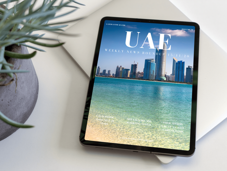 UAE Weekly News Roundup 15/11/20