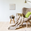 mini retro caravans giclee print with mount armchair blanket home room artwork picture Gateway Art Sales Abu Dhabi Dubai UAE