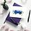 blue camper van greeting card birthday card thank you card Gateway Art Sales Abu Dhabi Dubai UAE