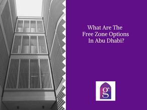 What Are The Free Zone Options In Abu Dhabi?