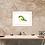 Lioness painting insitu desk home hallway console table picture art Gateway Art Sales Abu Dhabi Dubai UAE