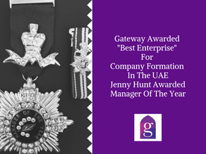 """Gateway Awarded """"Best Enterprise"""" For Company Formation In The UAE"""