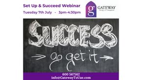 Set Up & Succeed Webinar