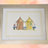Thumbnail: Orange & Yellow Beach Huts ORIGINAL PAINTING