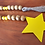 Wood bead garland with yellow beads star jute tassel Easter gift decor Al Ain Abu Dhabi Dubai Gateway Art Sales