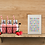 mini beach huts beach houses giclee print with mount for sale shelf strawberry smoothie Gateway Art Sales Abu Dhabi Dubai UAE
