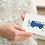 blue camper van greeting card insitu hands birthday card thank you card Gateway Art Sales Abu Dhabi Dubai UAE