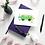 green camper van greeting card insitu desk birthday card thank you card notecard Gateway Art Sales Abu Dhabi Dubai UAE