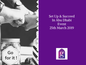 Set Up & Succeed in Abu Dhabi Event – 25th March 2019
