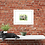 Elephant painting insitu brick wall cat desk picture home office Gateway Art Sales Abu Dhabi Dubai UAE