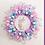unicorn wreath decor decoration girls birthday party bedroom pink lilac turquoise abu dhabi dubai al ain Gateway Art Sales