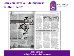 Can You Have a Side Business in Abu Dhabi?