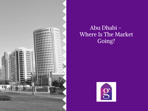 Abu Dhabi - Where Is The Market Going?
