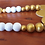 gold and white wood bead garland with hearts home decor tiered tray in Abu Dhabi Dubai Al Ain Gateway Art Sales