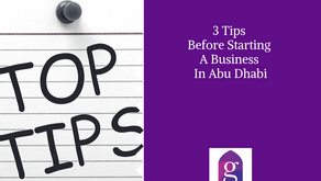3 Tips Before Starting A Business In Abu Dhabi