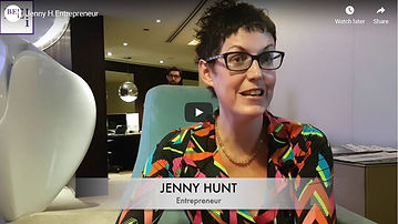 Jenny Hunt Be-Influenced Video Interview
