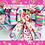 Santa's Sweet Shop Christmas wreath pink blue lollipops bow handmade decoration decor Gateway Art Sales Abu Dhabi Dubai UAE
