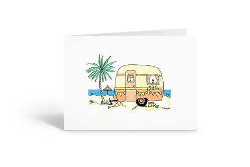 orange greeting card birthday card thank you card Gateway Art Sales Abu Dhabi Dubai UAE