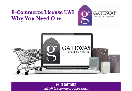E-Commerce License UAE - Why You Need One