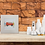 Thumbnail: Orange Camper Van MOUNTED PRINT (Square)