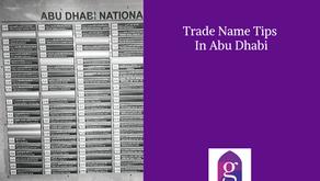 Trade Name Tips In Abu Dhabi