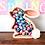 Easter bunny chocolate holder personalized gift name colour Abu Dhabi Dubai Al Ain Gateway Art Sales LLC
