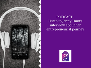 PODCAST: Listen to Jenny Hunt's interview about her entrepreneurial journey