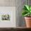 giclee art print elephant picture artwork decor living room Gateway Art Sales Abu Dhabi Dubai UAE gift idea plant pot mount
