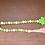 Little shamrocks wood bead garland with tassel clover St Patricks Day tiered tray decor Abu Dhabi Dubai Gateway Art Sales