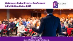 Gateway's Dubai Events, Conference & Exhibition Guide 2021