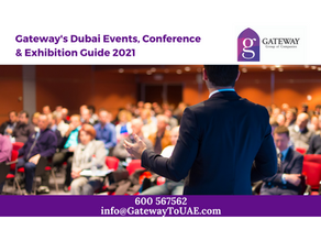 Gateway's Dubai Events, Conference & Exhibition Guide 2021